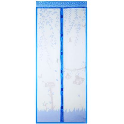 Picture of 100 x 210CM Anti Mosquito Magnetic Curtain Automatic Closing Door Screen Summer Style Mesh Net