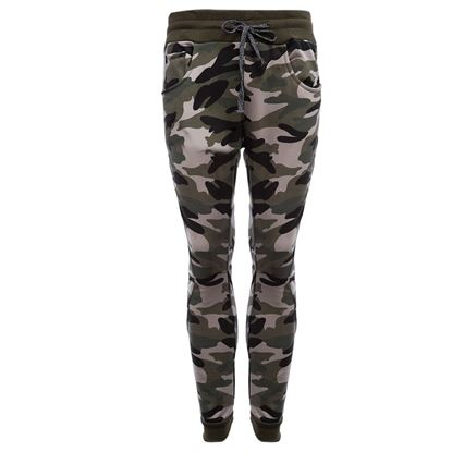 Picture of Pocket Design Camouflage Elastic Band Ankle Banded Male Pants