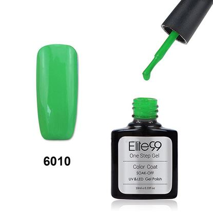 Picture of Elite99 60 Candy Colors Long-Lasting Varnish Top Coat Nail Polish 10ml - Apple Green