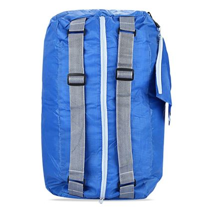 Picture of Foldable Zipper Traveling Backpack Camping Shoulder Bag