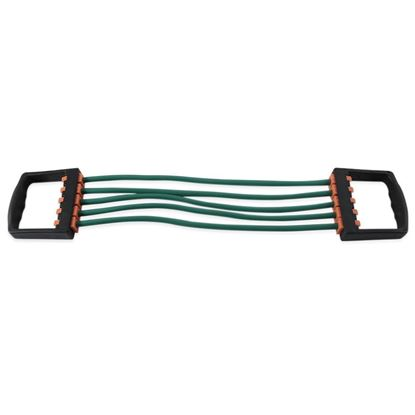 Picture of Portable Resistant Chest Expander Puller with 5 Tube Rubber Rope
